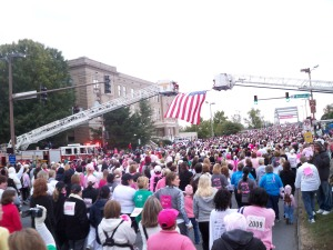 Race For the Cure Start